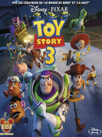 sortie vod, dvd et blu-ray Toy Story 3