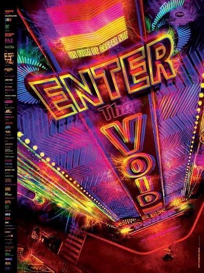 sortie vod, dvd et blu-ray Enter the Void