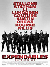 sortie dvd expendables - unite speciale