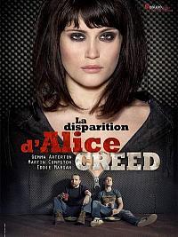 sortie dvd la disparition d'alice creed