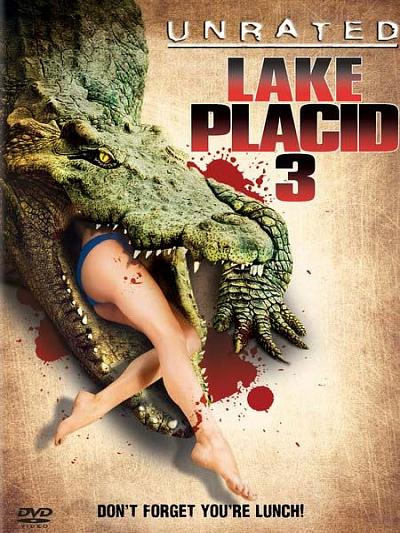 sortie vod, dvd Lake Placid 3