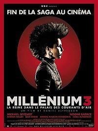 sortie dvd millenium 3