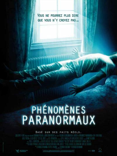 sortie vod, dvd et blu-ray Phénomènes Paranormaux
