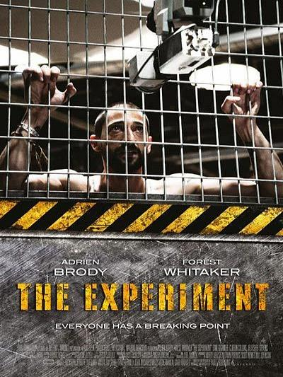 sortie vod, dvd et blu-ray The Experiment