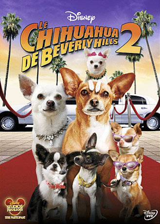 sortie vod, dvd et blu-ray Le Chihuahua de Beverly Hills 2