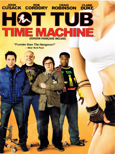sortie vod, dvd Very Hot tub - La machine à démonter le temps