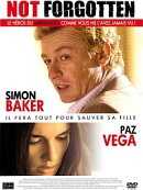 affiche sortie dvd Not forgotten