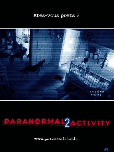 sortie vod, dvd et blu-ray Paranormal Activity 2