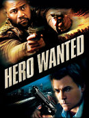 affiche sortie dvd Hero Wanted