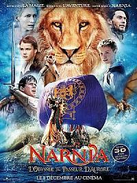 sortie dvd le monde de narnia - chapitre 3 - l'odyssee du passeur d'aurore
