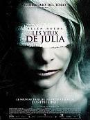 affiche sortie dvd les yeux de julia