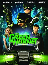 affiche sortie dvd The Green Hornet