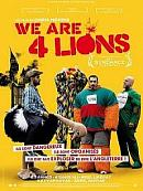 affiche sortie dvd We are four Lions