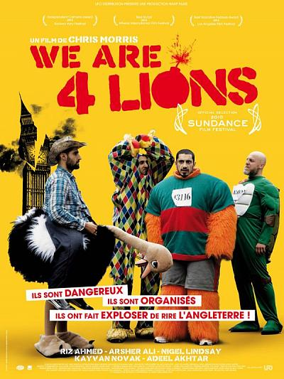 sortie vod, dvd We are four Lions
