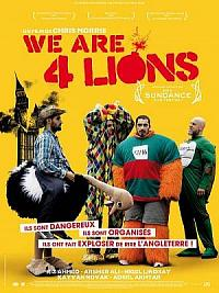 sortie dvd we are four lions