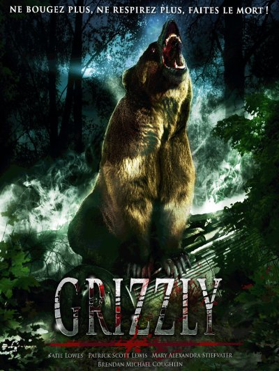sortie vod, dvd et blu-ray Grizzly