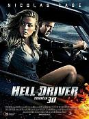 affiche sortie dvd Hell Driver
