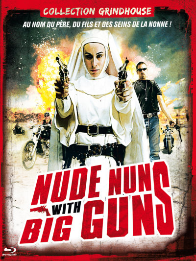 sortie vod, dvd et blu-ray Nude Nuns With Big Guns