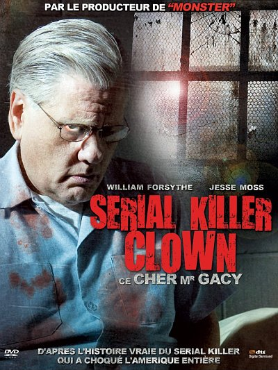 sortie vod, dvd et blu-ray Serial killer Clown - Ce cher Mr Gacy