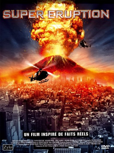 sortie vod, dvd Super Eruption