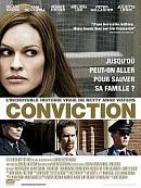 affiche sortie dvd Conviction