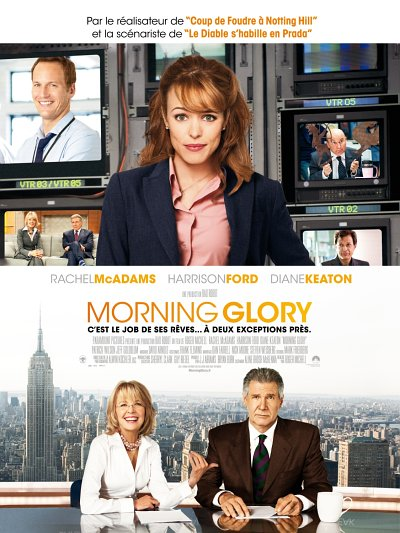 sortie vod, dvd et blu-ray Morning Glory