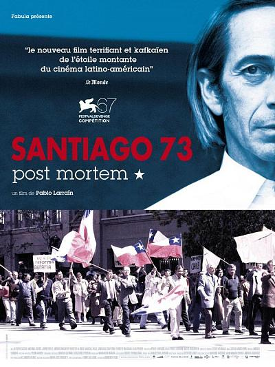 sortie vod, dvd Santiago 73 - Post Mortem