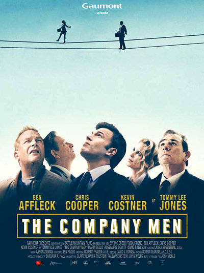 sortie vod, dvd et blu-ray The Company Men