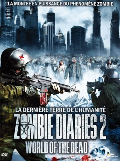 sortie vod, dvd et blu-ray Zombie Diaries 2 - World of the Dead