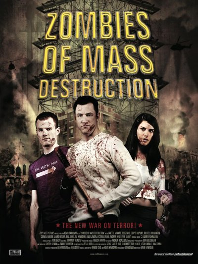 sortie vod, dvd et blu-ray Zombies Of Mass Destruction