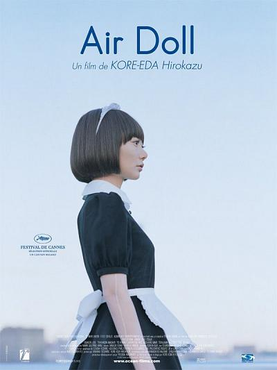 sortie dvd Air Doll