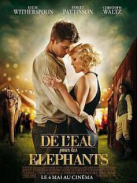 sortie dvd de l'eau pour les elephants