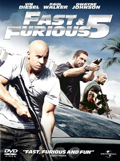 sortie vod, dvd et blu-ray Fast & Furious 5