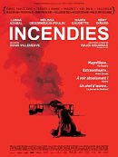 affiche sortie dvd incendies