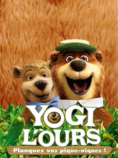 sortie vod, dvd et blu-ray Yogi l'ours