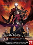 affiche sortie dvd Fate stay night - le Film
