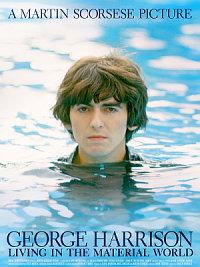 affiche sortie dvd george harrison - living in the material world