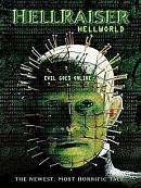 affiche sortie dvd hellraiser - hellworld