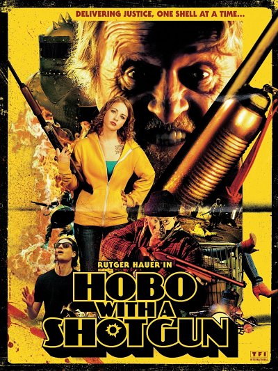 sortie vod, dvd et blu-ray Hobo with a Shotgun