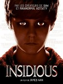 affiche sortie dvd Insidious