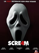 affiche sortie dvd scream 4