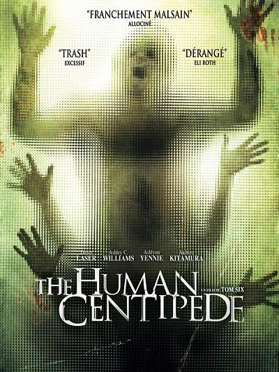 sortie vod, dvd et blu-ray The Human Centipede