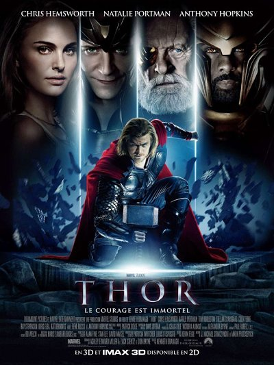 sortie vod, dvd et blu-ray Thor