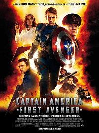 sortie dvd captain america - first avenger