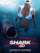 affiche sortie dvd shark 3d