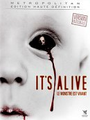 affiche sortie dvd it's alive - le monstre est vivant