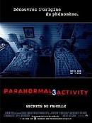 affiche sortie dvd paranormal activity 3