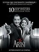 affiche sortie dvd the artist