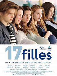sortie dvd 17 filles