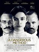 affiche sortie dvd A Dangerous Method